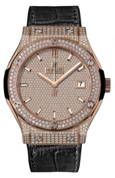 Hublot Classic Fusion Automatic Gold 45mm Mens watch, model number - 511.ox.9010.lr.1704, discount price of £36,000.00 from The Watch Source