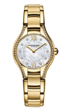 Raymond Weil Noemia Ladies watch, model number - 5124-ps-00985, discount price of £1,270.00 from The Watch Source