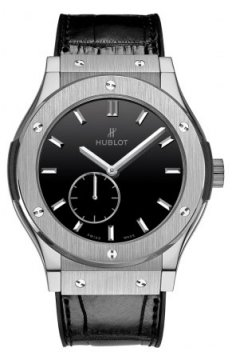 Hublot Classic Fusion Classico Ultra Thin 45mm Mens watch, model number - 515.nx.1270.lr, discount price of £8,320.00 from The Watch Source
