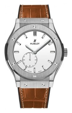 Hublot Classic Fusion Classico Ultra Thin 45mm Mens watch, model number - 515.nx.2210.lr, discount price of £7,560.00 from The Watch Source