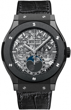 Hublot Classic Fusion Aerofusion Moonphase 45mm 517.cx.0170.lr Black Magic watch