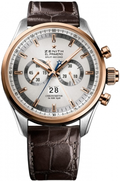 Zenith El Primero Rattrapante Chronograph Mens watch, model number - 51.2050.4026/01.c713, discount price of £10,430.00 from The Watch Source