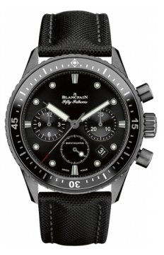 Blancpain Fifty Fathoms Bathyscaphe Flyback Chronograph 43mm Mens watch, model number - 5200-0130-b52a, discount price of £10,149.00 from The Watch Source