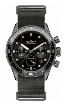 Blancpain Fifty Fathoms Bathyscaphe Flyback Chronograph 43mm Mens watch, model number - 5200-0130-naba, discount price of £10,149.00 from The Watch Source