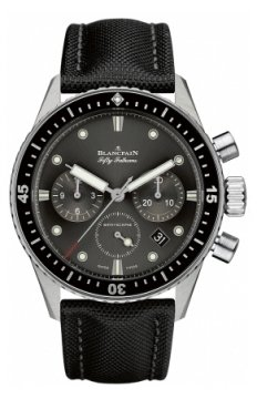 Blancpain Fifty Fathoms Bathyscaphe Flyback Chronograph 43mm Mens watch, model number - 5200-1110-b52a, discount price of £8,420.00 from The Watch Source