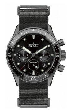 Blancpain Fifty Fathoms Bathyscaphe Flyback Chronograph 43mm 5200-1110-naba watch