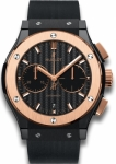 Hublot Classic Fusion Chronograph Black Magic 45mm 521.co.1781.rx watch