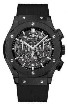 Hublot Classic Fusion Aerofusion Chronograph 45mm Mens watch, model number - 525.cm.0170.rx, discount price of £10,270.00 from The Watch Source