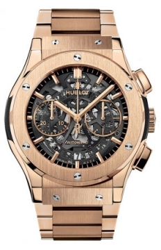 Hublot Classic Fusion Aerofusion Chronograph 45mm Mens watch, model number - 525.ox.0180.ox, discount price of £29,680.00 from The Watch Source
