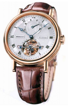Breguet Tourbillon Automatic Power Reserve Mens watch, model number - 5317br/12/9v6, discount price of £79,470.00 from The Watch Source