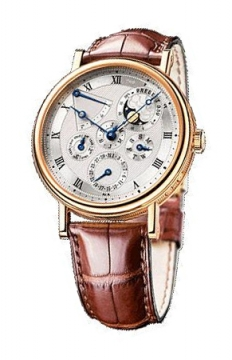 Breguet Classique Perpetual Calendar Mens watch, model number - 5327br/1e/9v6, discount price of £47,440.00 from The Watch Source