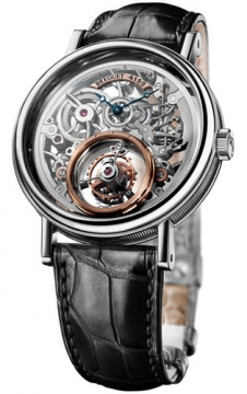 Breguet Tourbillon Messidor Mens watch, model number - 5335pt/42/9w6, discount price of £102,425.00 from The Watch Source