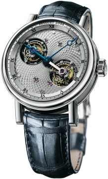 Breguet Classique Grande Complications Double Tourbillon Mens watch, model number - 5347pt/11/9zu, discount price of £415,800.00 from The Watch Source
