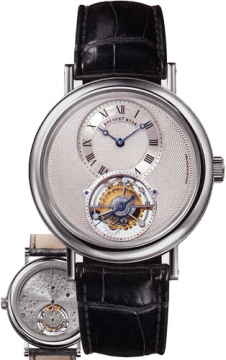 Breguet Tourbillon Manual Wind Mens watch, model number - 5357pt/12/9v6, discount price of £69,680.00 from The Watch Source