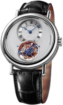 Breguet Tourbillon Manual Wind Mens watch, model number - 5357pt/1b/9v6, discount price of £69,680.00 from The Watch Source