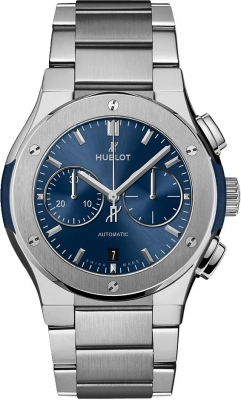Buy this new Hublot Classic Fusion Chronograph 42mm 540.nx.7170.nx mens watch for the discount price of £8,075.00. UK Retailer.