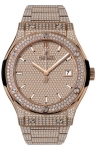 Hublot Classic Fusion Automatic Gold 42mm 542.ox.9010.ox.3704 watch