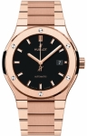 Hublot Classic Fusion Automatic Gold 42mm 548.ox.1180.ox watch