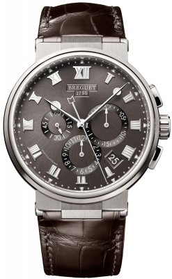 Breguet Marine Chronograph 42.3mm 5527ti/g2/9wv watch