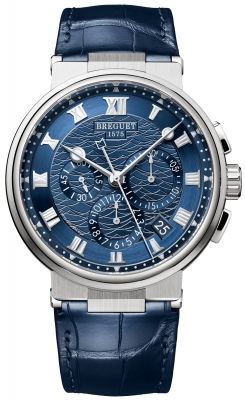Breguet Marine Chronograph 42.3mm 5527bb/y2/9wv watch