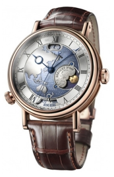 Breguet Classique Hora Mundi Mens watch, model number - 5717br/as/9zu, discount price of £47,940.00 from The Watch Source