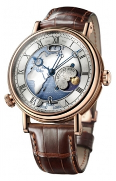Breguet Classique Hora Mundi Mens watch, model number - 5717br/eu/9zu, discount price of £53,300.00 from The Watch Source
