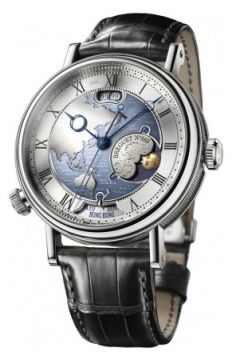 Breguet Classique Hora Mundi Mens watch, model number - 5717pt/as/9zu, discount price of £60,570.00 from The Watch Source