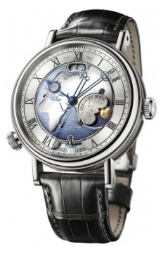 Breguet Classique Hora Mundi Mens watch, model number - 5717pt/eu/9zu, discount price of £57,205.00 from The Watch Source