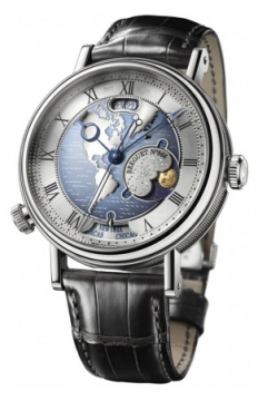 Breguet Classique Hora Mundi Mens watch, model number - 5717pt/us/9zu, discount price of £57,205.00 from The Watch Source