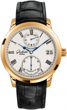 Glashutte Original Senator Chronometer Mens watch, model number - 58-01-01-01-04, discount price of £16,810.00 from The Watch Source