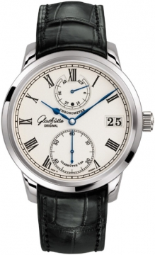 Glashutte Original Senator Chronometer Mens watch, model number - 58-01-01-04-04, discount price of £18,402.00 from The Watch Source