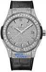 Hublot Classic Fusion Quartz Titanium 33mm 581.nx.9010.lr.1704 watch
