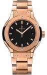 Hublot Classic Fusion Quartz Gold 33mm 581.ox.1181.ox watch