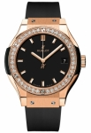 Hublot Classic Fusion Quartz Gold 33mm 581.ox.1181.rx.1104 watch