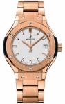 Hublot Classic Fusion Quartz Gold 33mm 581.ox.2611.ox watch