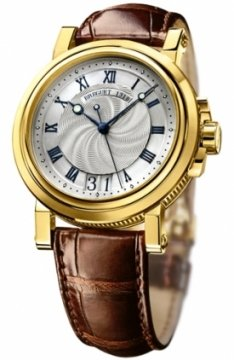 Breguet Marine Automatic Big Date Mens watch, model number - 5817ba/12/9v8, discount price of £12,920.00 from The Watch Source