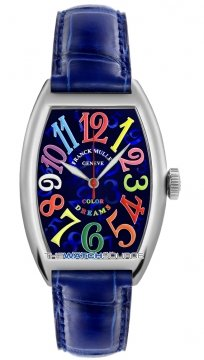 Franck Muller Cintree Curvex Midsize watch, model number - 5850 SC CODR Blue , discount price of £5,440.00 from The Watch Source