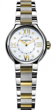 Raymond Weil Noemia Ladies watch, model number - 5927-stp-00995, discount price of £860.00 from The Watch Source