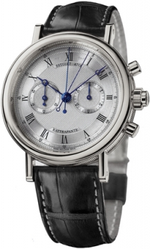 Breguet Classique Chronograph Mens watch, model number - 5947bb/12/9v6, discount price of £32,480.00 from The Watch Source