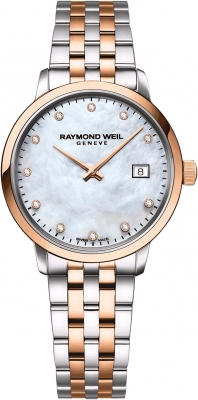 Buy this new Raymond Weil Toccata 29mm 5985-sp5-97081 ladies watch for the discount price of £742.85. UK Retailer.