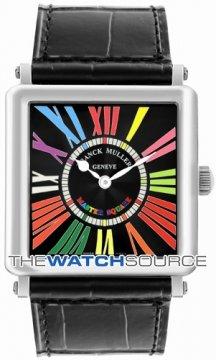 Franck Muller Master Square Quartz 6002 M QZ CODR WG Black  watch