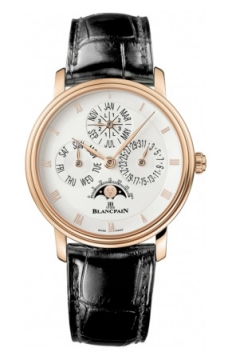 Blancpain Villeret Perpetual Calendar - 38mm Mens watch, model number - 6057-3642-53b, discount price of £25,542.00 from The Watch Source