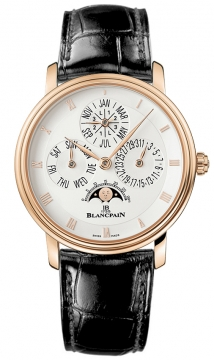 Blancpain Villeret Perpetual Calendar - 38mm Mens watch, model number - 6057-3642-55, discount price of £26,525.00 from The Watch Source