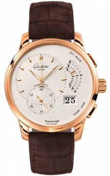 Glashutte Original PanoGraph Manual Wind Mens watch, model number - 61-03-25-15-05, discount price of £19,813.00 from The Watch Source