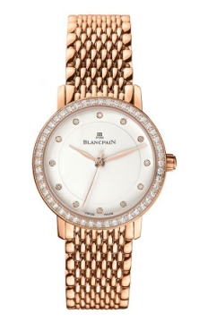 Blancpain Villeret Ultra Slim Ladies Automatic 29mm Ladies watch, model number - 6102-2987a-mmb, discount price of £17,000.00 from The Watch Source