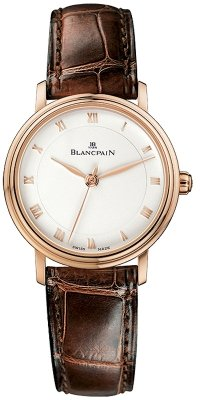 Blancpain Villeret Ultra Slim Ladies Automatic 29mm Ladies watch, model number - 6102-3642-55, discount price of £5,920.00 from The Watch Source