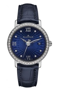 Blancpain Villeret Ultra Slim Ladies Automatic 29mm Ladies watch, model number - 6102c-1929-55a, discount price of £11,092.00 from The Watch Source