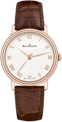 Blancpain Villeret Ultra Slim Automatic 29.2mm 6104-3642-55a watch