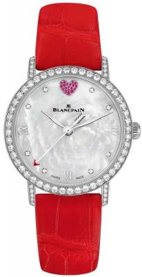 Blancpain Villeret Ultra Slim Automatic 29.2mm 6104b-4654-99a watch