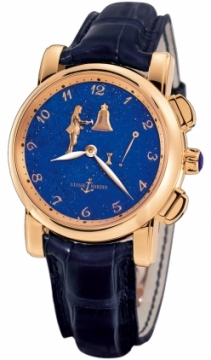 Ulysse Nardin Hourstriker 42mm Mens watch, model number - 6106-103/e3, discount price of £67,872.00 from The Watch Source